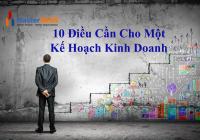 10 Điều Cần Cho Một  Kế Hoạch Kinh Doanh