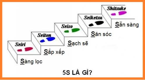 5S là gì? Lý do nên áp dụng 5S