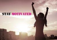 5 Bí quyết giúp bạn duy trì động lực mỗi ngày